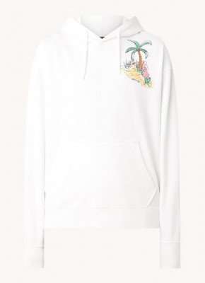 Scotch & Soda Scotch & Soda Hoodie met front- en backprint