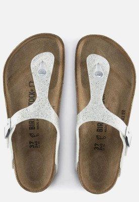 Birkenstock Birkenstock Gizeh Cosmic Sparkle slippers wit