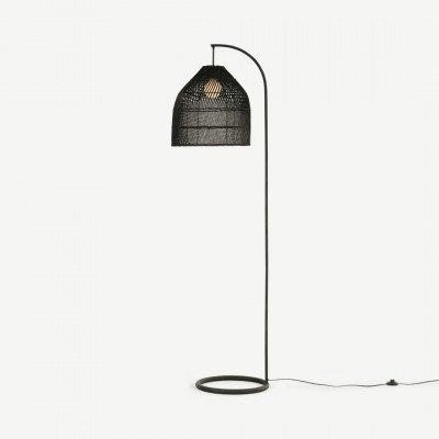 MADE.COM Java staande lamp, zwart