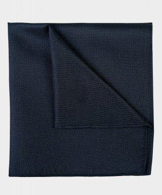 Michaelis Michaelis heren zijden pochet zwart