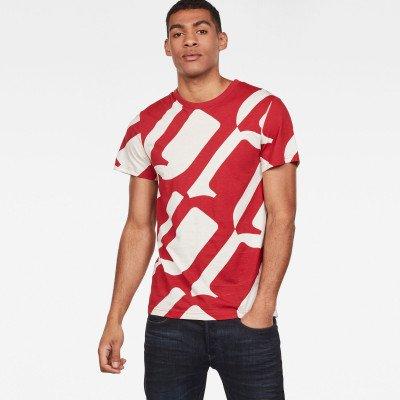 G-Star RAW Hyce T-Shirt - Rood - Heren