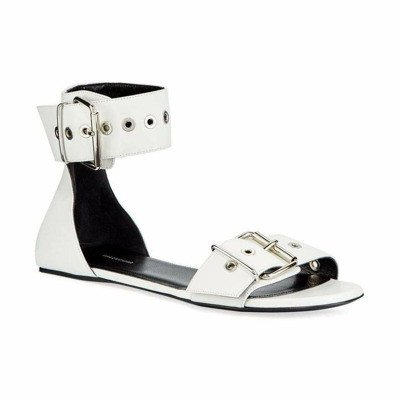 Balenciaga riem Flat enkelband Sandal