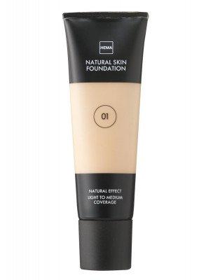 HEMA Natural Skin Foundation Rose 01 (bruin)
