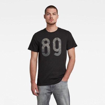 G-Star RAW Layered 89 Graphic T-Shirt - Zwart - Heren