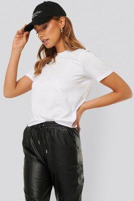 NA-KD Basic Basic T-Shirt - White