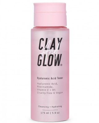 Clay And Glow Clay And Glow Hyaluronic Acid Toner Clay And Glow - CLEANSING + HYDRATING Gezichtsolie
