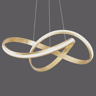 PAUL NEUHAUS LED-hanglamp Melinda, 30W, dimbaar, goud