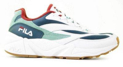 FILA FILA V94M Low Wit/Blauw Damessneakers