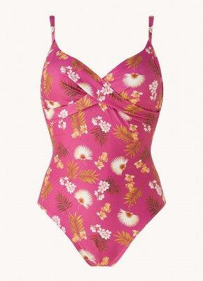 CYELL Cyell Voorgevormd badpak met bloemenprint