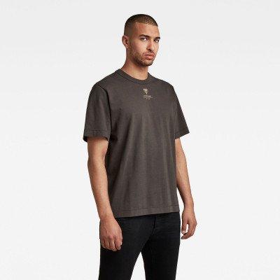 G-Star RAW Back Logo Loose T-Shirt - Grijs - Heren