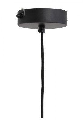 Light en Living Light & Living Hanglamp 'Banu' 40cm, zwart