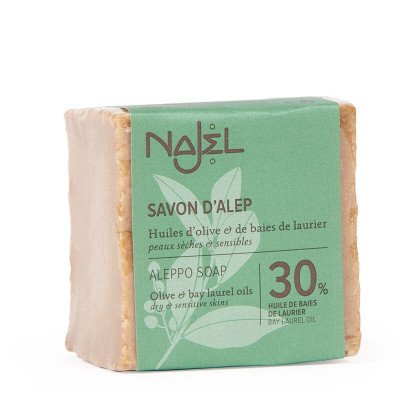 Najel Aleppo Zeep met 30% Laurierolie - 170gr Najel