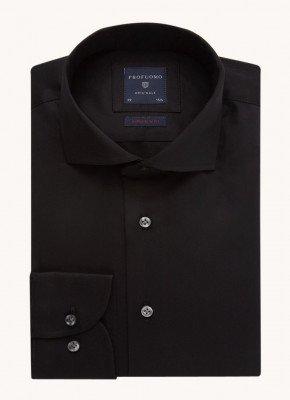 Profuomo Profuomo Super slim fit overhemd van katoen