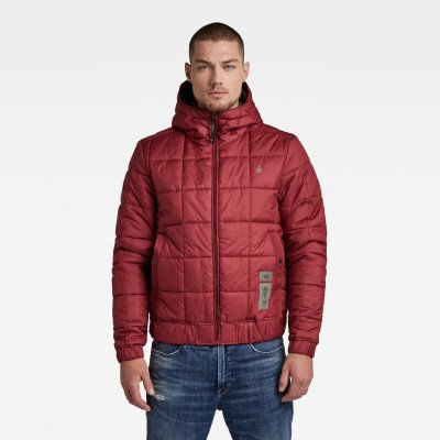 G-Star RAW Jack Meefic Square Quilted - Rood - Heren