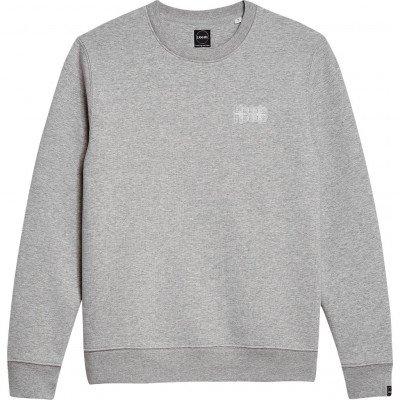 Llocals Llocals White Lines Grijs Sweater