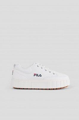 FILA Leren Sneakers - White