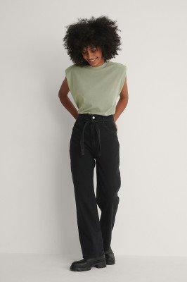 Trendyol Trendyol Rechte Jeans - Black