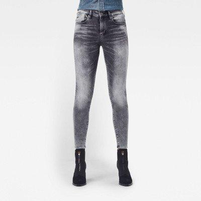 G-Star RAW Lhana Skinny Jeans - Grijs - Dames