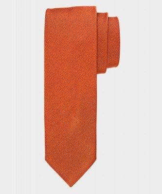 Michaelis Michaelis heren zijden stropdas roest