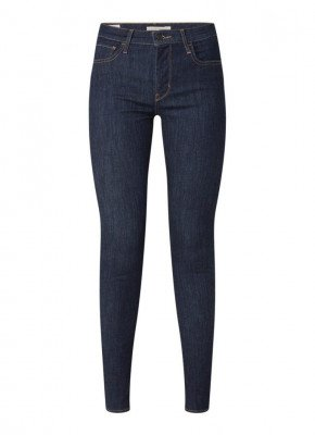 Levi's Levi's 720 mid waist super skinny jeans met donkere wassing