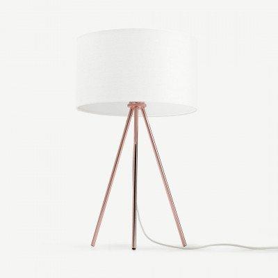 MADE.COM Frances driepoot tafellamp, koper
