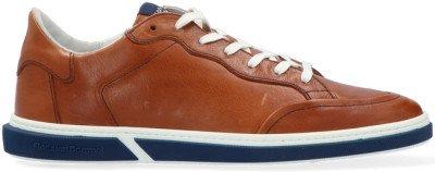 Floris van Bommel Cognac Floris Van Bommel Lage Sneakers 13350