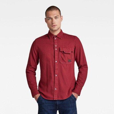 G-Star RAW Bound Pocket Slim Shirt - Rood - Heren