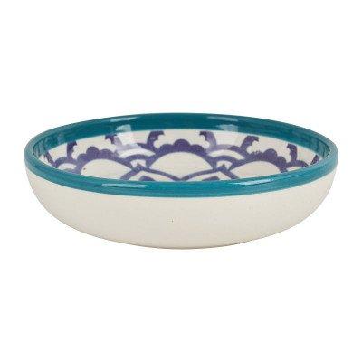 Schaal Marrakesh - turquoise - ø18 cm
