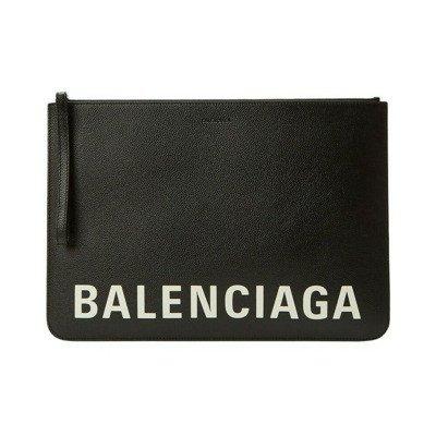 Balenciaga Cash Logo Large Pouch