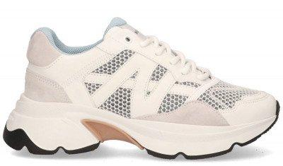 Nubikk Nubikk Ross Trek Wit/Multicolor Damessneakers