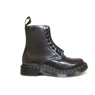 Dr. Martens 1460 pascal front zip boots
