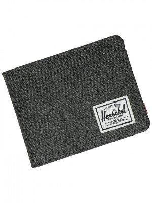 Herschel Herschel Roy + Coin RFID Wallet zwart