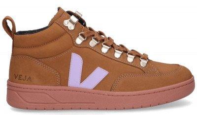 VEJA VEJA Roirama Nubuck Bruin Damessneakers