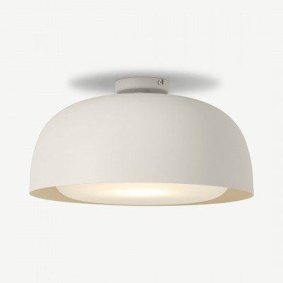 MADE.COM Bodoni inbouw plafondlamp, roomwit