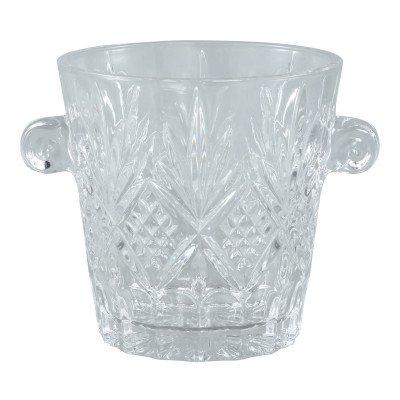 Firawonen.nl Ptmd glas kristal rond ijs emmer