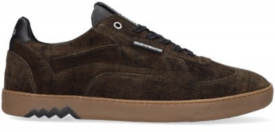 Floris van Bommel Groene Floris Van Bommel Lage Sneakers 16342