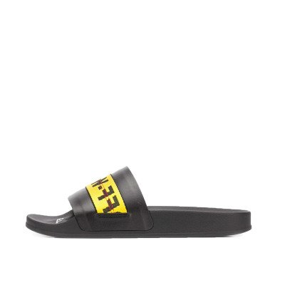 Off-White Off-White Industrial Slides Black Yellow (2020)