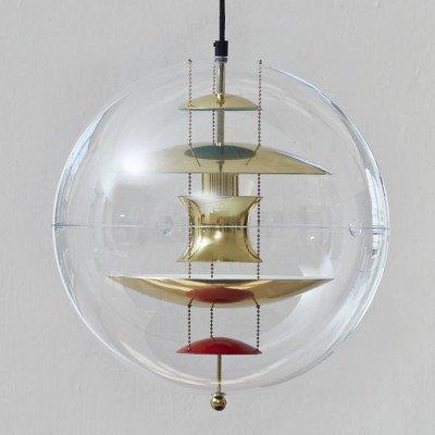 Verpan VERPAN VP Globe hanglamp, messing