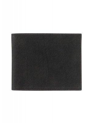 HEMA Leren Portemonnee (zwart)