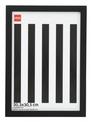 HEMA HEMA Fotolijst - Hout - Zwart 20.3 X 30.5