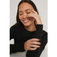 NA-KD Accessories Ringenset - Silver