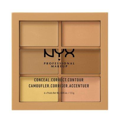 NYX Professional Makeup Medium Concealer Correct Contour Palette Contouring 1.5 g