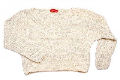Paqocha by EcuaFina 100% Baby Alpaca Sweater - Beige - Luxe, Uniek & Duurzaam