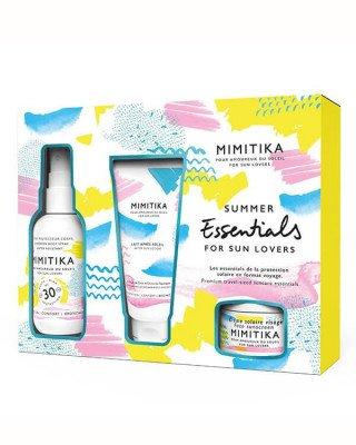 Mimitika Mimitika - Summer Essentials Kit SPF30 - 75 ml + 50 ml + 10 ml