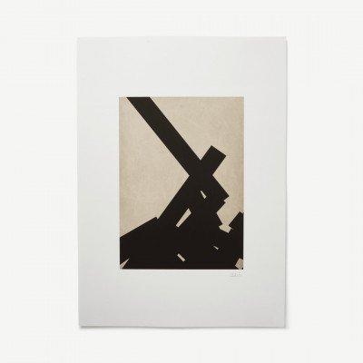 MADE.COM Abstract No 2 door Alexandra Papadimouli, print, 50 x 70 cm