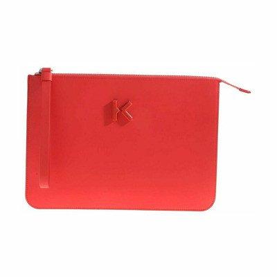 Kenzo K Flat Clutch