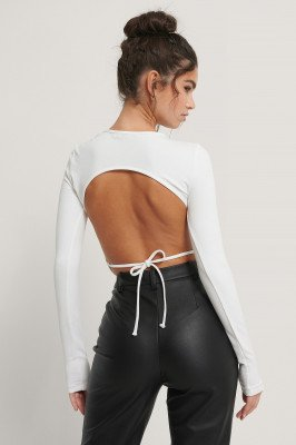 NA-KD Party NA-KD Party Body Met Open Rug - White