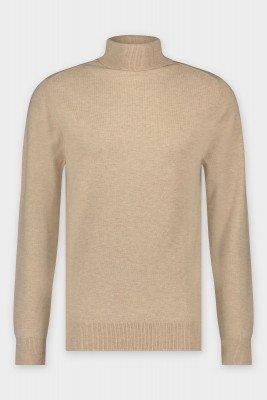BALR. Ross Regular Turtleneck knit Almond Milk