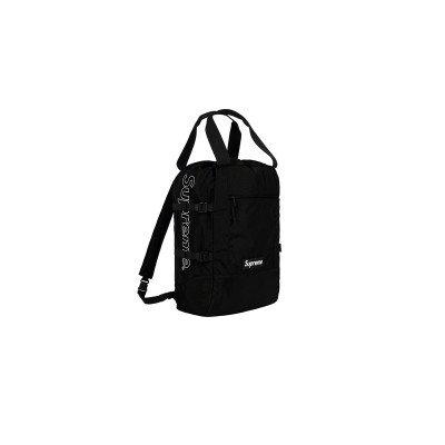 Supreme Supreme Tote Backpack Black (SS19)