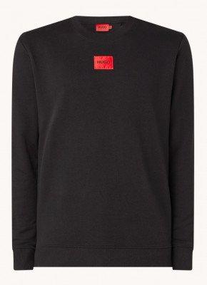 HUGO HUGO Diragol sweater met logo